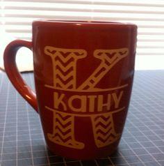 Coffee Mug Gift  by Allhungupwallart on Etsy, $8.00