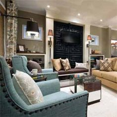 This is what I need...one sofa and two arm chairs.