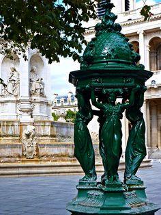 Place de St-Sulpice, via Flickr.