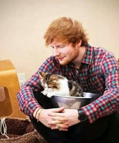 Ed Sheeran and is that Meredith?