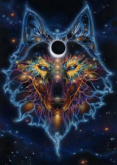 The ancient wolf, speaks to you day light and tells you if something is wrong or danger is coming played by: everyone