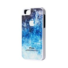 Stylish Blue Sparkle iPhone 5S/5C/5/4S/4 Case