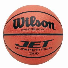 Wilson Jet Competition Game Basketball (28.5-Inch) by Wilson. Save 9 Off!. $45.27. High-performance composite leather Pebbled composite channels Cushion core technology Indoor use only