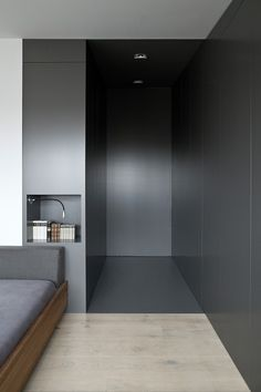 bedroom grey entrance