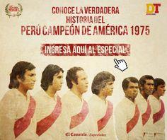 Copa América 1975: especial por los 40 años del título de Perú| El Comercio Peru. Octubre 23, 2015.