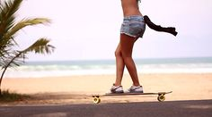 This is my life beach and longboarding :)