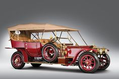 Red 1911 Rolls-Royce Silver Ghost
