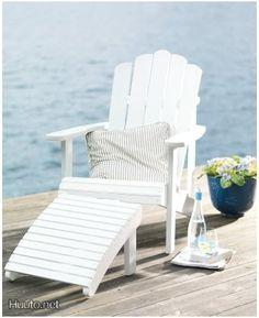 Valkoinen kansituoli / White deckchair