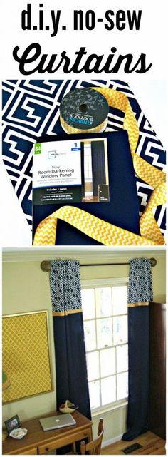 FABULOUS tutorial for DIY Window Curtains!