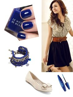 """""""blue :)"""" by maddya3 ❤ liked on Polyvore"""