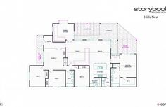 Floor Plan Friday: 4 bedroom with rumpus off kids' rooms - Katrina Chambers