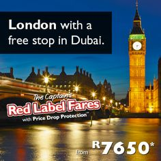 Introducing the Captain's Red Label Fares. These fares are unique to Flight Centre and come with the confidence of Price Drop Protection. So if the fare becomes cheaper, we'll credit you the difference. #Travel #FlightCentre #RedLabelFares #ForTheLoveOfTravel