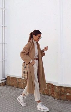 Casual Winter Outfits, Winter Fashion Outfits, Classy Outfits, Vintage Outfits, Autumn Fashion, Cute Outfits, Modest Fashion, Ootd Winter, Work Outfits