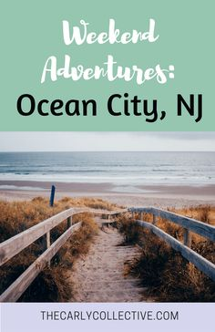 In need of a new weekend adventure? Try Ocean City, New Jersey! O.C. is filled with tons of family fun and beach activities!