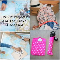 19 DIY Projects For The Travel Obsessed