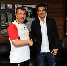 Sahin's first day in photos - Liverpool FC