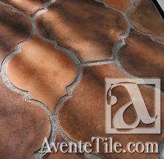 Arabesque Zaragoza Spanish Paver Handmade Cement Tile