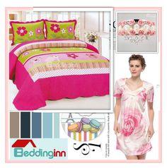 """Beddinginn.com 9"" by djulovic-mirela ❤ liked on Polyvore featuring interior, interiors, interior design, home, home decor, interior decorating, Seed Design, Anja, modern and Beddinginn"