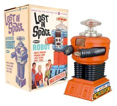 1966 Lost in Space Robot by Remco-Oh, MAN!! This is cooler than the other side of the pillow!!