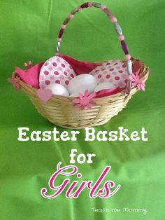 DIY Kids Easter Basket Such fun!