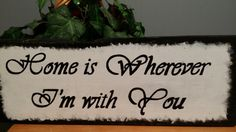 Rustic Love Quote Shabby Chic wood sign by TeesTransformations