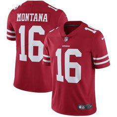 Broncos Von Miller 58 jersey Joe Montana San Francisco 49ers Nike Retired Player Vapor Untouchable Limited Throwback Jersey - Scarlet Eagles Alshon Jeffery 17 jersey Falcons Taylor Gabriel jersey