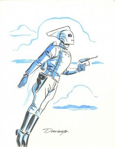 The Rocketeer by Darwyn Cooke