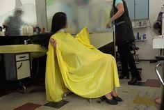 Long Hair Cuts, Long Hair Styles, Salon Chairs, Vintage Gowns, Single Women, Hairdresser, Barbershop, Hair Beauty, Barber Chair