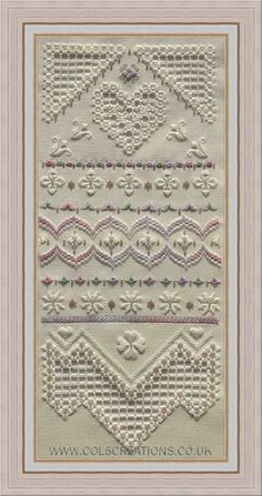 Col's Creations - Traditional Hardanger Designs.