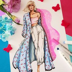 The Effective Pictures We Offer You About fashion sketches tutorial A quality picture can tell you m Fashion Drawing Dresses, Fashion Illustration Dresses, Dress Illustration, Dress Design Sketches, Fashion Design Sketchbook, Fashion Design Drawings, Fashion Model Sketch, Fashion Sketches, Arte Fashion