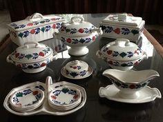Oud Boerenbont Societe Ceramique of Regout om te VERZAMELEN | Webwinkel Servies Merij