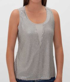 BKE Boutique Chiffon Tank Top - Women's Shirts/Tops | Buckle