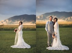Venue: Big Yellow Barn / Bozeman, Montana Wedding / Photography: Missy Short