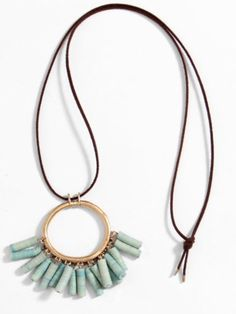 Gemstone stone gems necklace. For more follow www.pinterest.com/ninayay and stay positively #pinspired #pinspire @ninayay