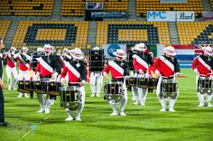 Kidsgrove Scouts (UK) performing at the 2014 Drum Corps Europe Championships in Kerkrade, The Netherlands
