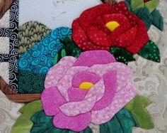 Caixa em patchwork embutido 15x15x9