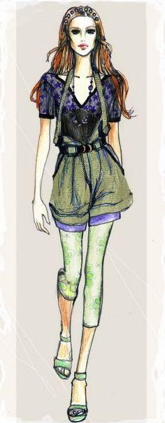fashion design sketches | fashion design,fashion illustration,drawing,sketch,photoshop ...