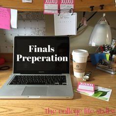 Finals Preparation — #xocollegelife