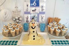 Disney's Frozen themed birthday party with SUCH CUTE IDEAS via Kara's Party Ideas! full of decorating ideas, recipes, cakes, cupcakes, games...