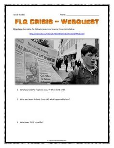 34 Best October Crisis images | October crisis, Crisis ...