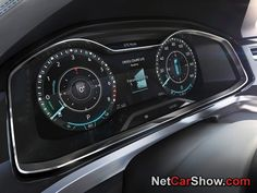Volkswagen Cross Coupe GTE Concept, 2015