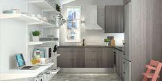 K-Raudasta löydät unelmiesi keittiön – oli keittiötilasi minkä mallinen vain. Tutustu Cello-keittiöihin. Alcove, Kitchen Island, Bathtub, Bathroom, Home Decor, Island Kitchen, Standing Bath, Washroom, Bathtubs