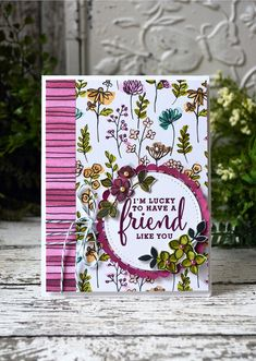 Stampin' Up! love what you do, share what you love suite Cards For Friends, Friend Cards, Stampin Up Catalog, Making Greeting Cards, Fancy Fold Cards, Friendship Cards, Love Cards, Pretty Cards, Paper Cards