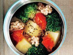 野菜の具だくさんスープの画像