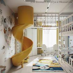 """Дизайн детской⭐️Детская мебель on Instagram: """"⁉️АКТИВНЫЕ ИГРЫ ДОМА – ПРИХОТЬ ИЛИ НЕОБХОДИМОСТЬ?!? ⠀ Самый безумный и смелый, в хорошем смысле, проект детской игровой комнаты 👻 ⠀ Было…""""  Идеи для детской игровой комнаты   Детская мебель на заказ в Москве   Фабрика детской мебели «Мамка™»   Лучшая детская мебель от производителя   Идеи для детской игровой комнаты   Детская мебель на заказ в Москве   Фабрика детской мебели «Мамка™»   Лучшая детская мебель от производителя Cool Kids Bedrooms, Kids Bedroom Designs, Room Design Bedroom, Home Room Design, Kids Room Design, Awesome Bedrooms, Cool Rooms, Bedroom Decor, Shared Bedrooms"""