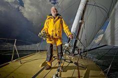 Portrait de marin - Sir Robin Knox-Johnston, le premier homme à avoir bouclé un tour du monde en solitaire