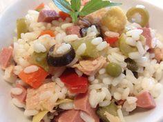 Insalata di riso - ricetta http://www.lorointavola.it/insalata-di-riso-ricetta/