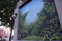 """Dingo en el Proyecto """"Muros"""".#ArteTabacalera Promoción del Arte #ArteUrbano #StreetArt Madrid Día 6 #Arterecord 2014"""