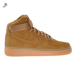 Nike Air Force 1 HI Suede Women's Shoes Tawny/Tawny 749266-201 (12 B(M) US) - Nike sneakers for women (*Amazon Partner-Link)