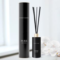 Federico Mahora Fragrance Home Ritual Pure 56 Homemade Reed Diffuser, Perfume Quotes, Fm Cosmetics, Uk Homes, Black Orchid, Instagram Quotes, Girly Things, Candles, Pure Products